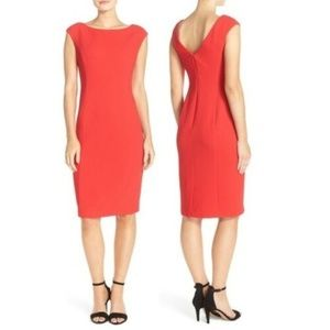 Eliza J Ella Midi Sheath Dress 10